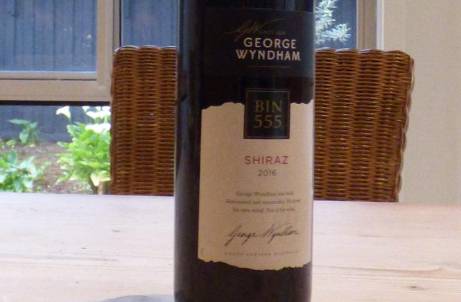 George Wyndham Bin 555 Shiraz