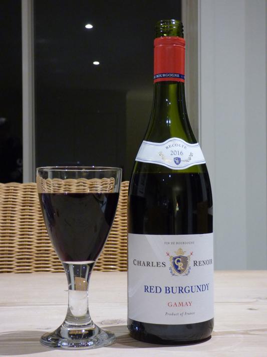 Charles Renoir Red Burgundy