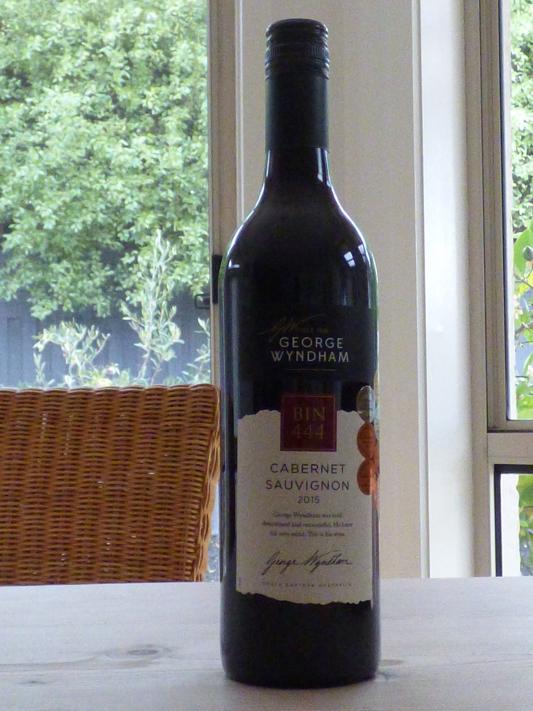 George Wyndham BIn 444 Cabernet Sauvignon