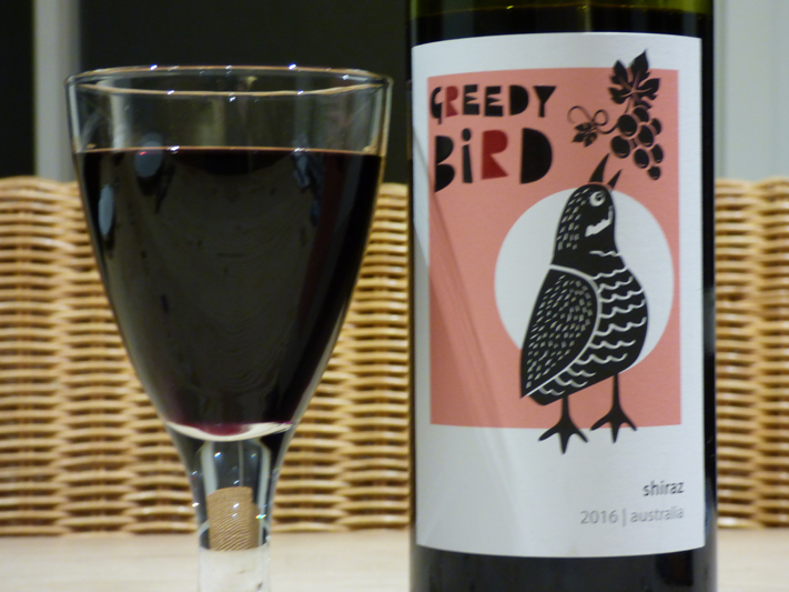 Greedy Bird Shiraz 2016