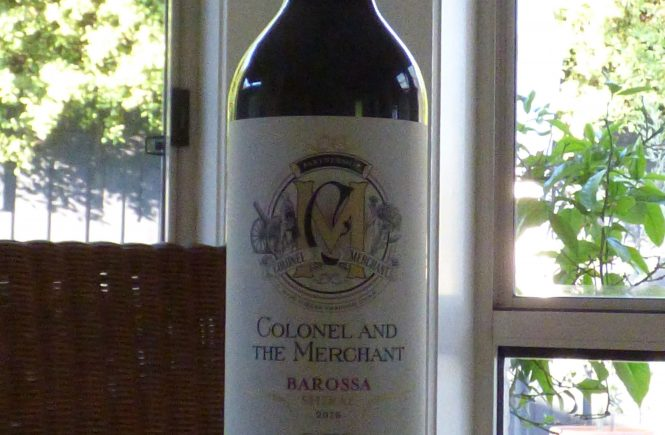 Colonel & The Merchant Shiraz