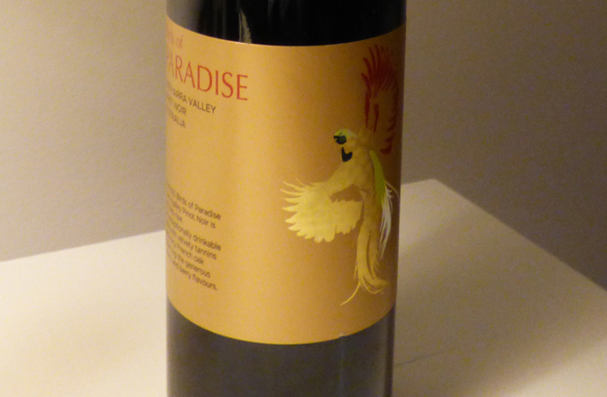 Birds of Paradise Pinot Noir 2013