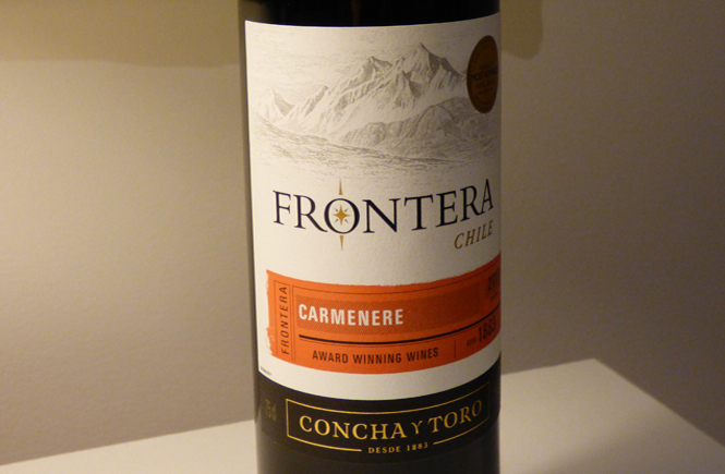 Frontera Carmenere Wine