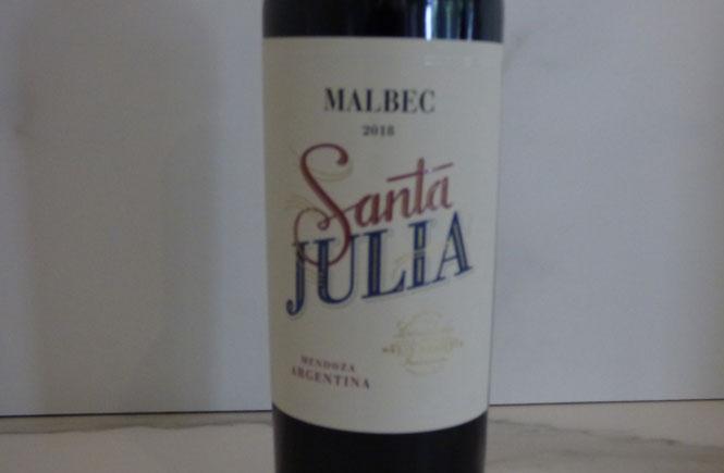 Santa Julia Malbec 2018