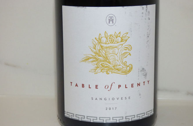 Table-of-Plenty Sangiovese