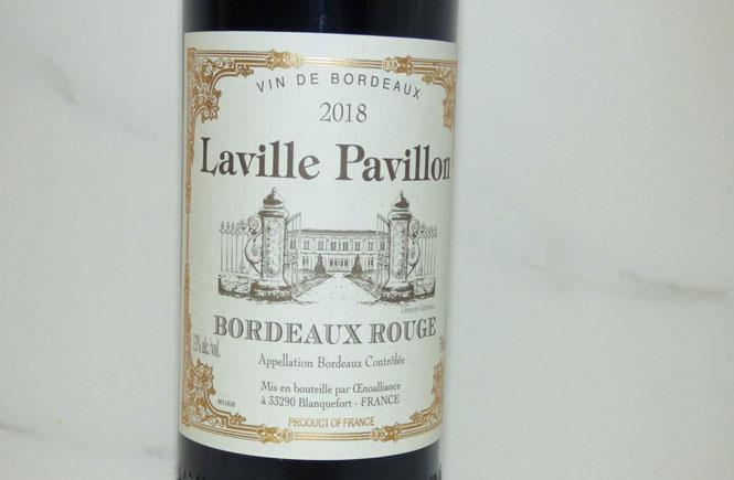 Vin De Bordeaux Lavile Pavillon
