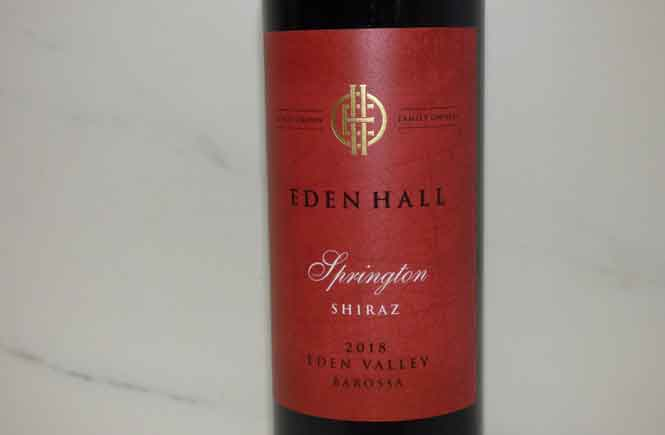 Eden-Hill-Springton Shiraz