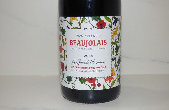 Beaujolais Label