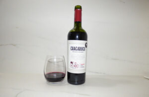 Chacabuco Malbec in the glass