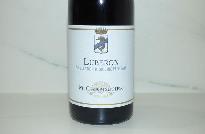 M Chapoutier Luberon Label