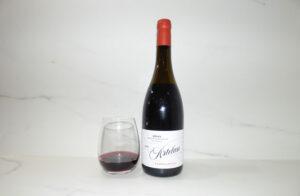 Artelan Rioja Tempranillo poured in glass
